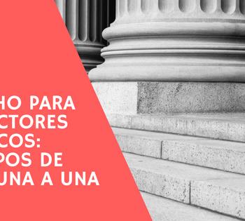 Derecho para traductores jurídicos: tipos de leyes