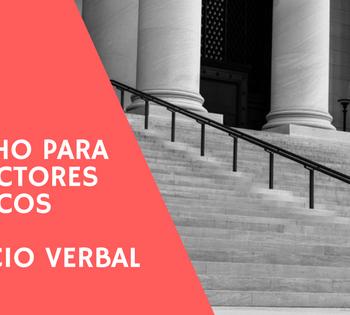 Derecho para traduccion juridica. El juicio verbal