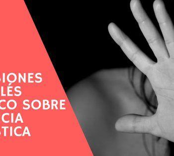 Inglés jurídico: Violencia doméstica