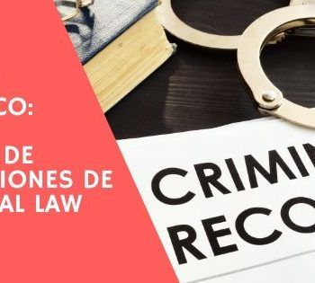 Top 10 terminos criminal law