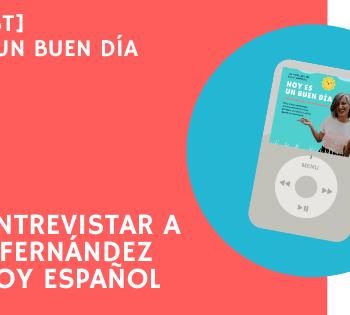 Entrevista a Olaya de Enjoy Español
